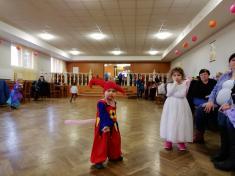 Dětský maškarní ples 2.3.2019