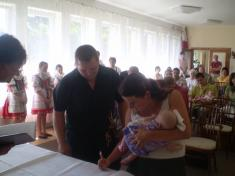 Vítání dětí 2010